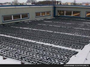 elektryczne ogrzewanie dachu