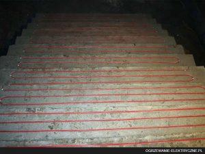 ogrzewanie przeciwoblodzeniowe - elektryczne ogrzewanie schodów