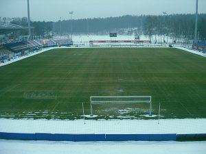 Ogrzewanie boisk piłkarskich - Amica Wronki